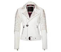 """leather jacket """"emerald"""""""