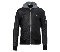 "Leather Bomber ""Urban"""