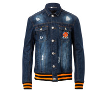 """Denim Jacket """"Can`t stop"""""""