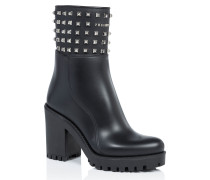 "Gummy low heels low boots ""azalea"""