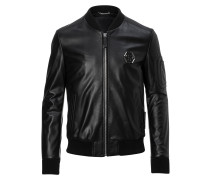 "Leather Bomber ""Double"""
