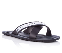 "Sandals Flat ""Frames from the side"""