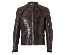 "Leather Bomber ""Jeffrey"""