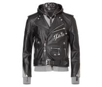 "Leather Moto Jacket ""Needed"""