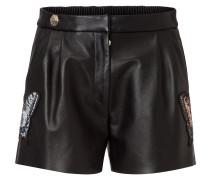 """leather shorts """"masa"""""""