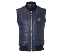"""leather vest """"elk"""""""