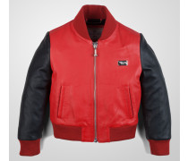 "leather jacket ""new boy"""