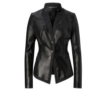 "leather blazer ""all the day"""
