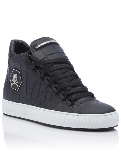 Philipp Plein Herren Mid-Top Sneakers