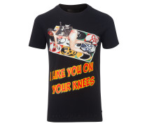 """t-shirt """"on your knees"""""""