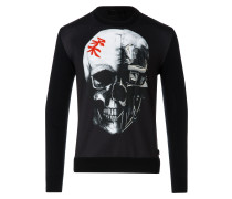 "Sweatshirt LS ""Japan skull"""