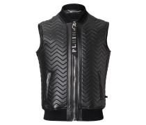 "Leather Vest Short ""Nagakijo"""