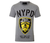 """T-shirt Round Neck SS """"Police"""""""