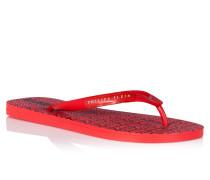 "Sandals Flat ""All over Plein"""