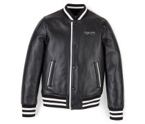 "Leather bomber ""Cali"""