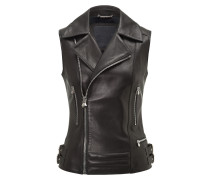 "Leather Vest Short ""Ushers"""