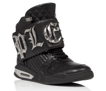 "Hi-Top Sneakers ""Bye"""