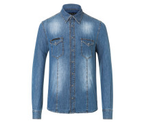"Denim Shirt Ls ""Counting"""