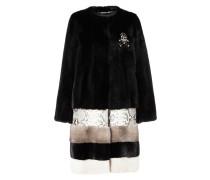 "Fur Coat Short ""Amarant One"""