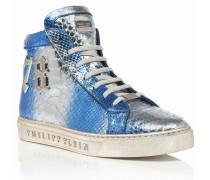 """Hi-Top Sneakers """"Yukimura"""""""