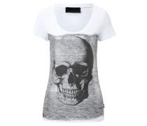 """T-shirt Round Neck SS """"Nebula Silver"""""""