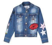 "Denim jacket ""Lucky one"""