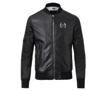"Leather Bomber ""Gensai"""