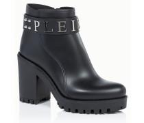 "Gummy low heel mid boots ""calla"""