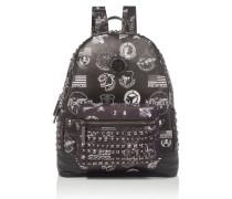 """backpack """"aranciopoli"""""""