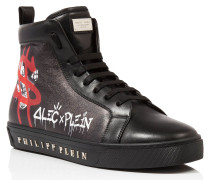 "Hi-Top Sneakers ""Alec one"""