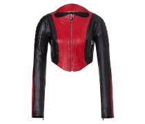 Leather bolero