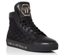 """Hi-Top Sneakers """"time"""""""