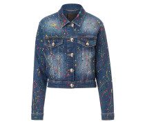 "Denim Jacket ""Amaranto"""