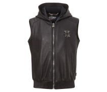 "leather vest ""the return"""