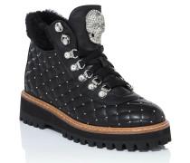 "Boots Low Flat ""ellen"""