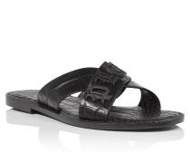 "Sandals Flat ""Claude"""
