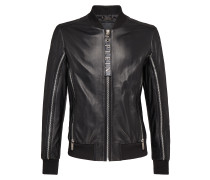 "Leather Bomber ""Shake it out"""