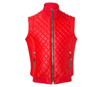 """Leather Vest """"Try"""""""