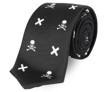 "Tight Tie ""Skull and cross"""