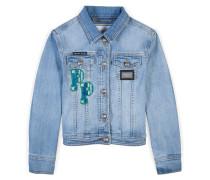 """denim jacket """"butterfly"""""""