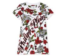 """T-Shirt Short Dresses """"Red Roses"""""""