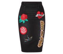 "Denim Skirt ""AguaDulce"""