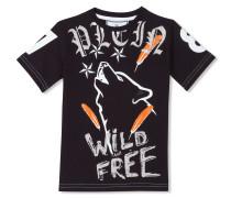 """T-shirt Round Neck SS """"Deep Wolf"""""""