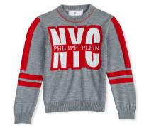"""Pullover Round Neck LS """"New York Plein"""""""