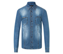 "Denim Shirt Ls ""Crazy things"""