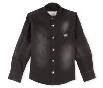 """Denim Shirt Ls """"Sunset NYC"""""""