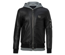 "Leather Bomber ""Titouan"""