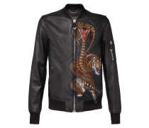 "Leather Bomber ""Strange word"""