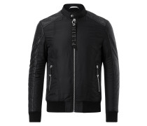 """Leather Moto Jacket """"Disposition"""""""