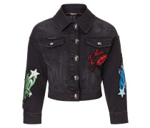 "Denim Jacket ""Centaurea """